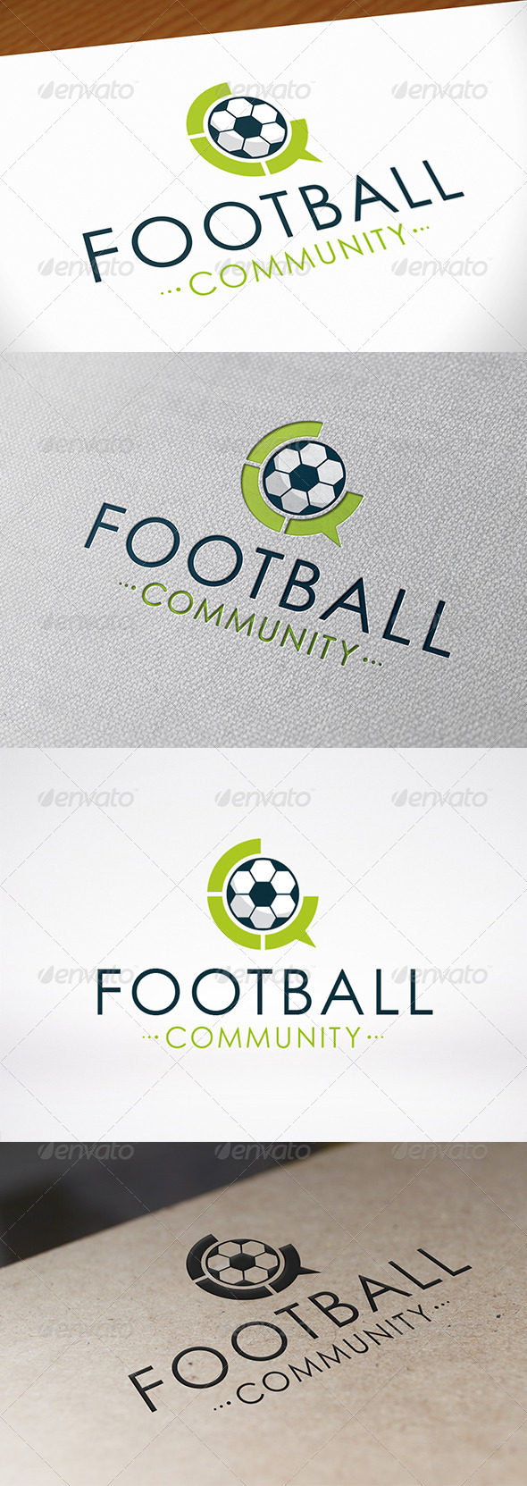GraphicRiver Football Chat Logo Template 6826304