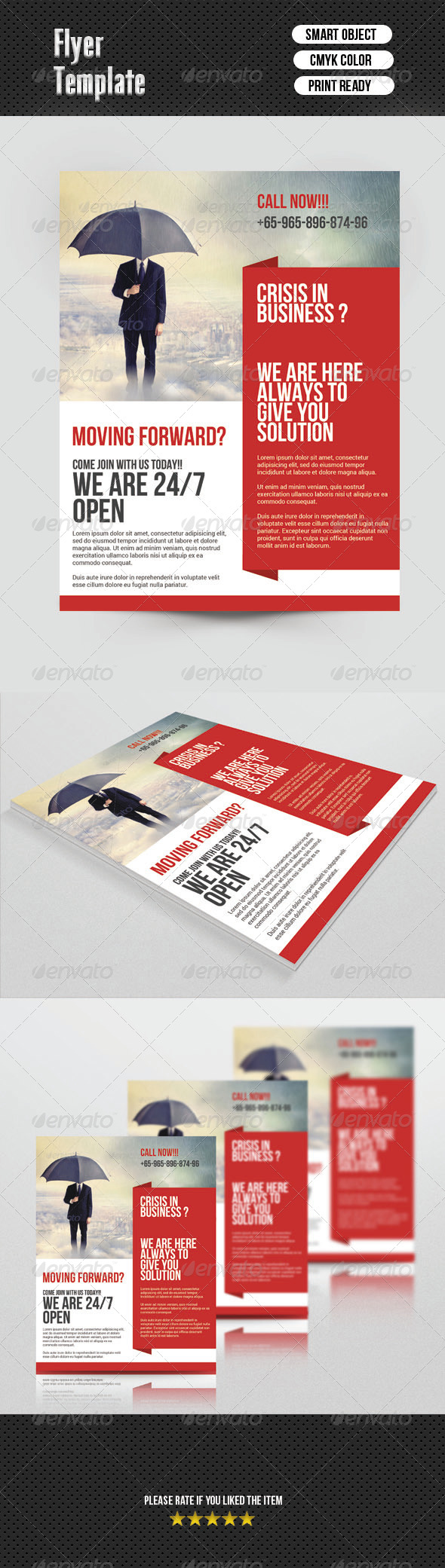 GraphicRiver Business Flyer 6826323