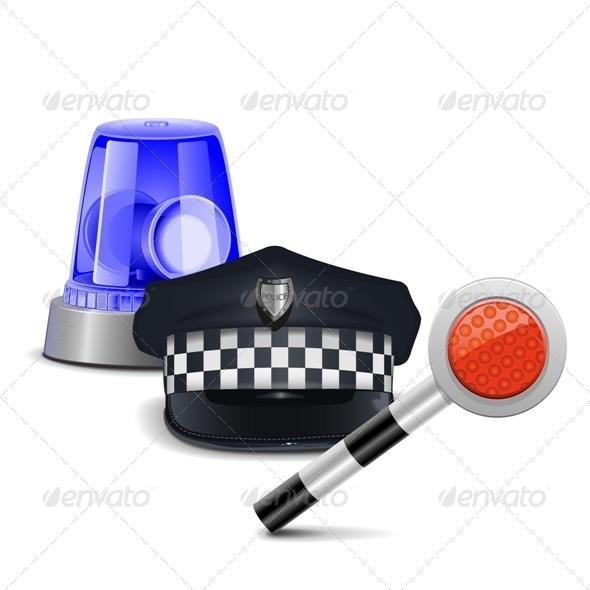 GraphicRiver Police Control Concept 6826477