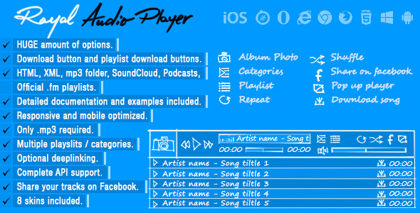 Royal Audio Player WordPress Plugin - 26