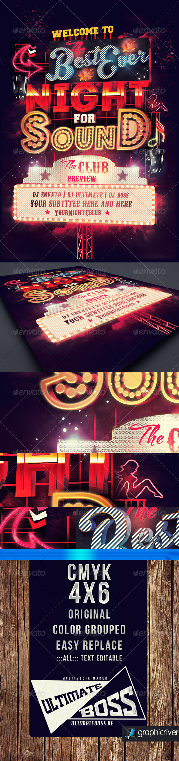 GraphicRiver Best Night Ever 6826563
