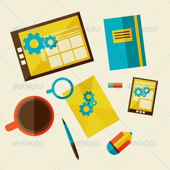 GraphicRiver Web Design Development 6826588