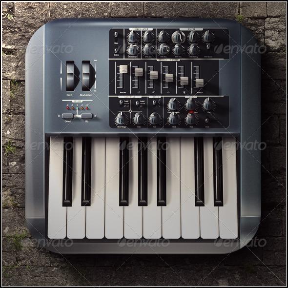 GraphicRiver Music Icon 6722630