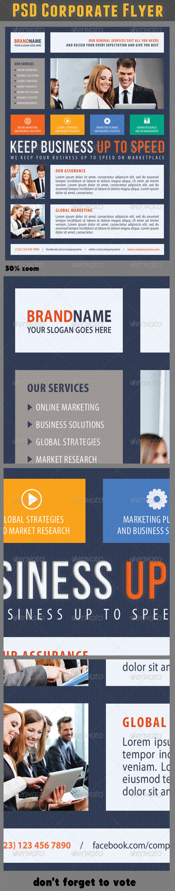 Corporate Product Flyer 56 - Corporate Flyers