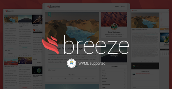 Breeze | Minimalist Responsive Personal Blog - Personal Blog / Magazine