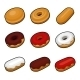 Colorful Donuts - GraphicRiver Item for Sale