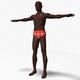 Black Athletic Male