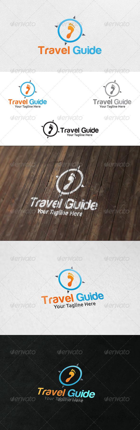 GraphicRiver Travel Guide Logo Template 6827343