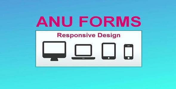 CodeCanyon Anu Forms 6825623