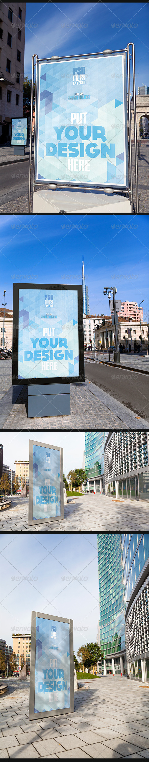 GraphicRiver Urban Poster Mock Up 6827677