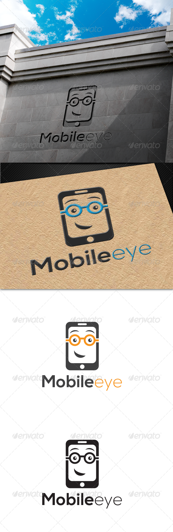 GraphicRiver MobileEye Logo 6827796