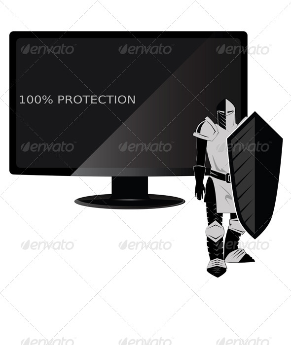 GraphicRiver Computer Protection 6827910