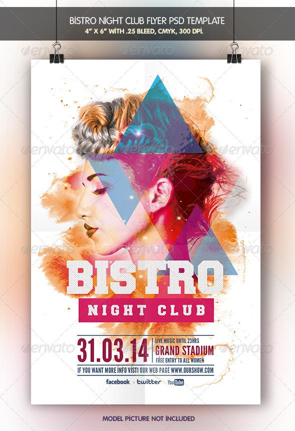 GraphicRiver Bistro Night Club 6827939
