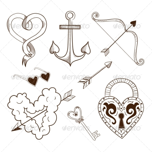 Collection of Sketch Elements