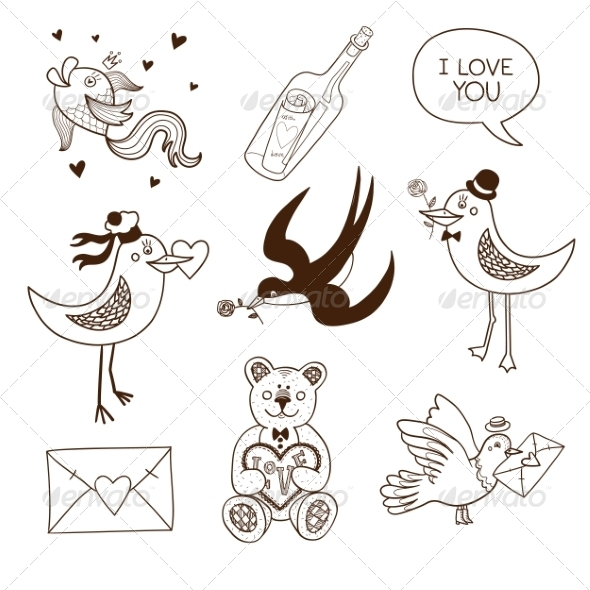 GraphicRiver Collection of Sketch Elements 6828298