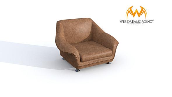 3DOcean Armchair SLOORP 6828524