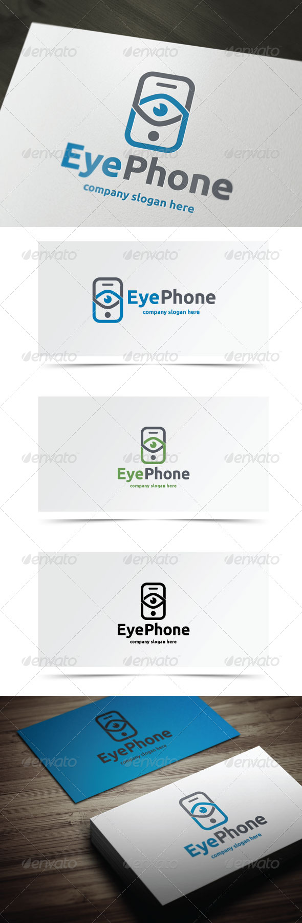 GraphicRiver Eye Phone 6828695