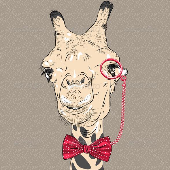 GraphicRiver Closeup Portrait of Camel Hipster 6828789