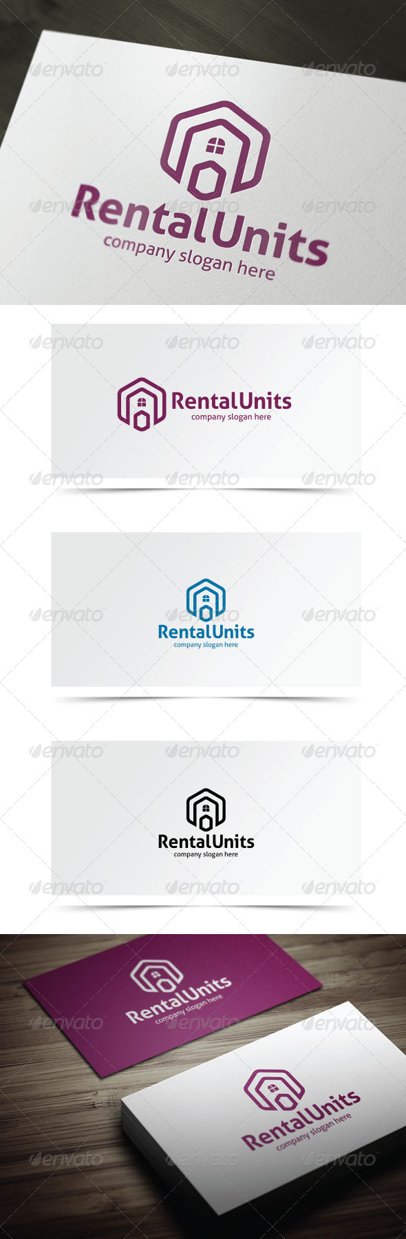 GraphicRiver Rental Units 6828851
