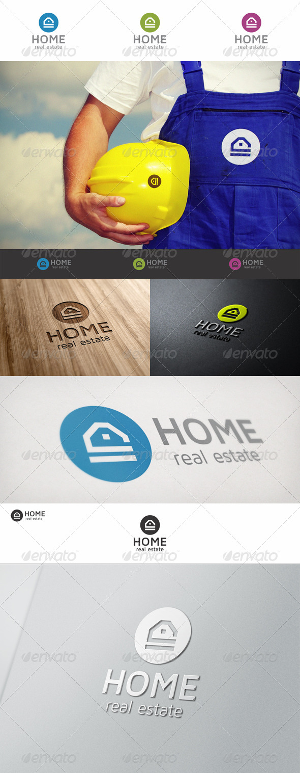 GraphicRiver Home Real Estate Logo 6829026