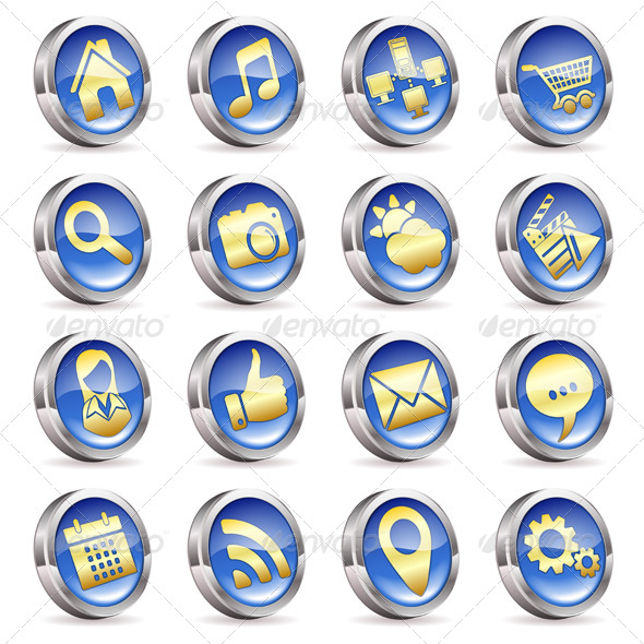 GraphicRiver Collect Applications Icons 6829337