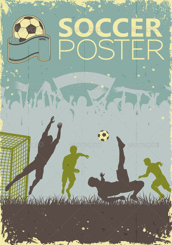 GraphicRiver Soccer Poster 6829345