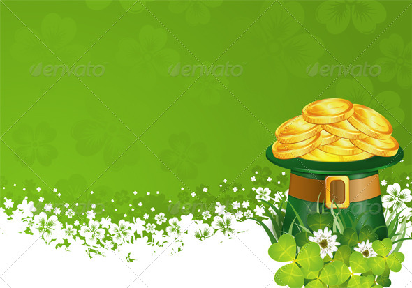 GraphicRiver Patrick Day Frame 6829357