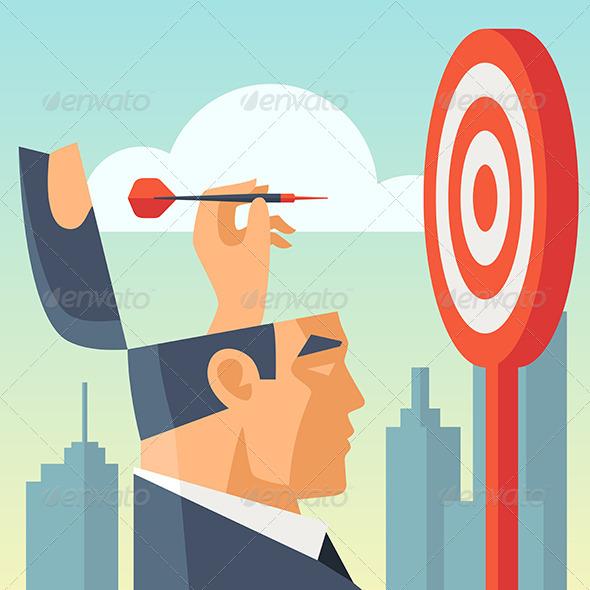 GraphicRiver Business Goals 6830063