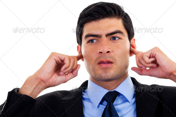 Hear no Evil - Stock Photo - Images