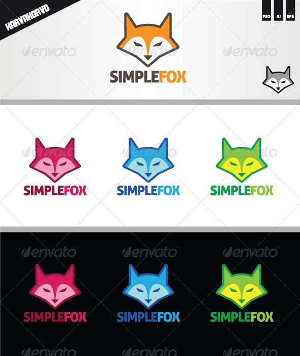 GraphicRiver Fox Logo 6830143