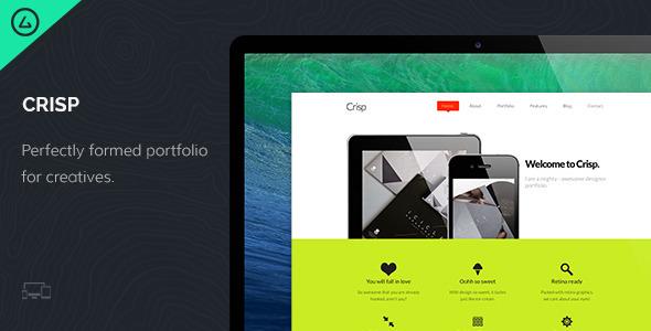 Crisp - Creative Designer Portfolio - Portfolio Creative