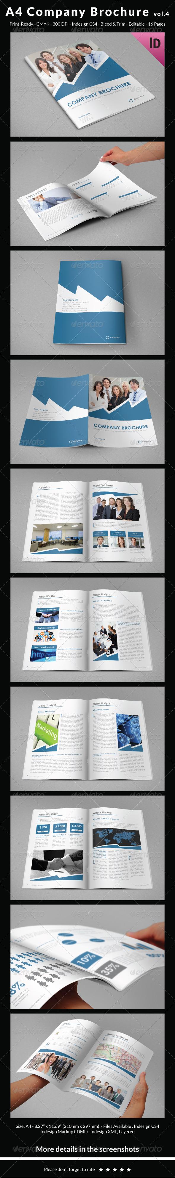 GraphicRiver A4 Company Brochure vol.4 6830235