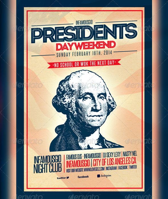 GraphicRiver Presidents Day 5 6830322