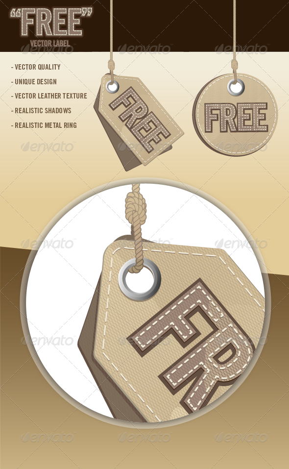 GraphicRiver Free Vector Labels 6830391