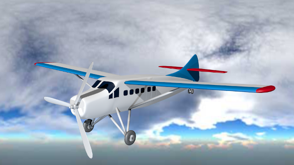 3DOcean de Havilland Canada DHC3 Otter 712422