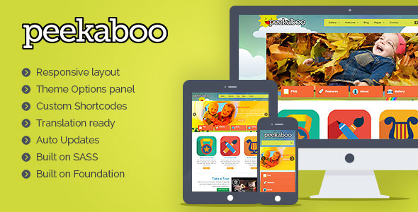 Pekaboo for WordPress - Children Theme Template - Overview