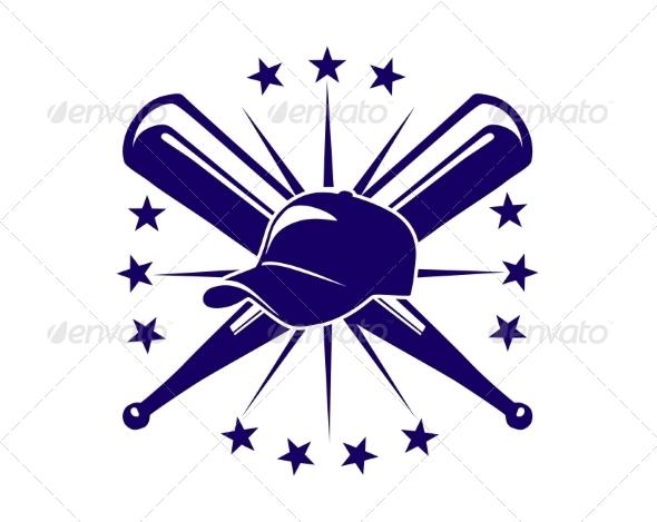 Baseball Icon or Emblem
