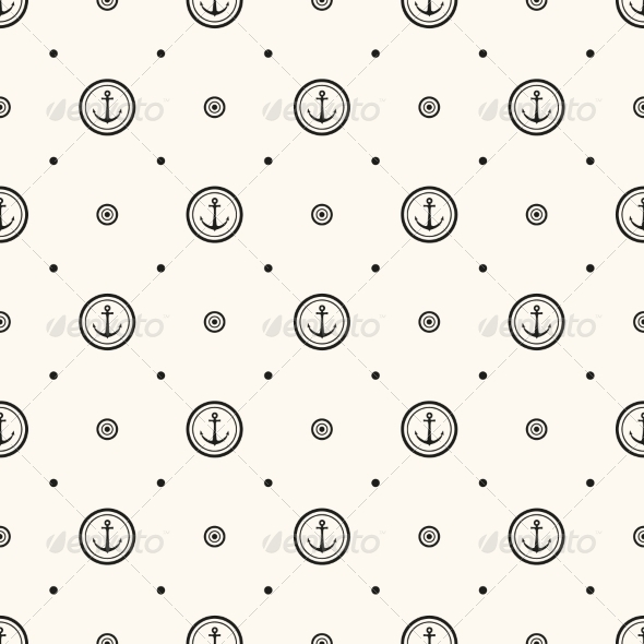 GraphicRiver Vector Seamless Retro Pattern 6830598