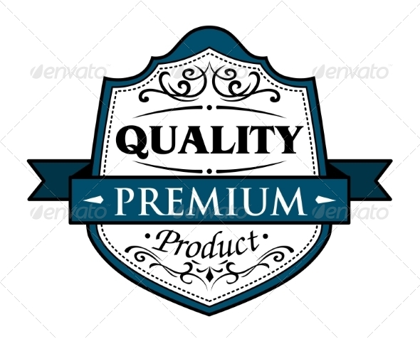 GraphicRiver Quality Premium Product Badge 6831907