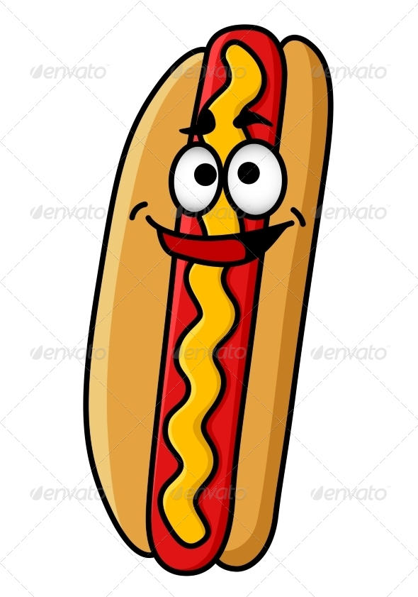 GraphicRiver Happy Hot Dog 6832053