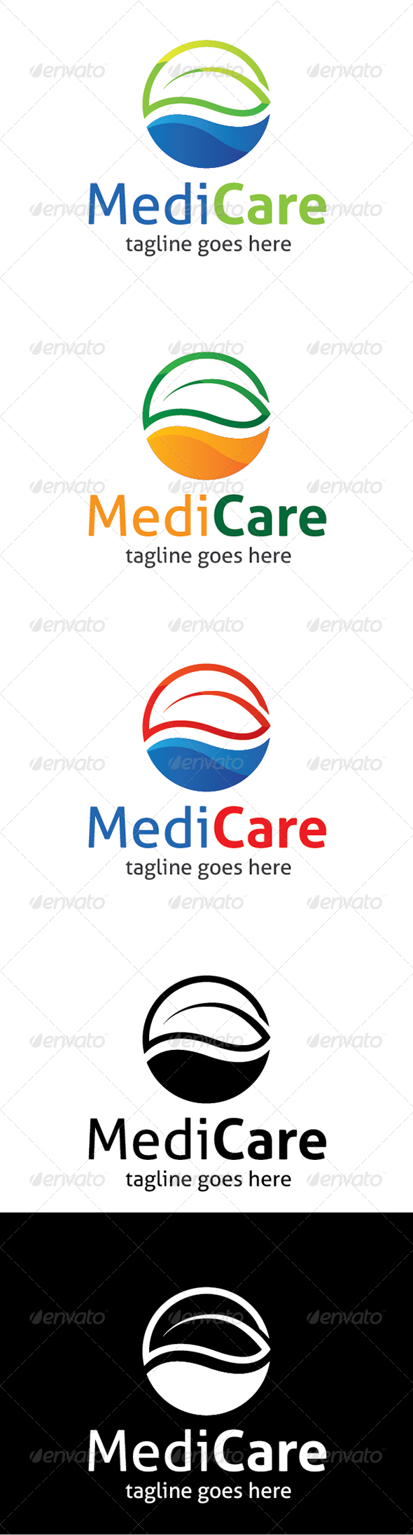 GraphicRiver MediCare Logo 6819099