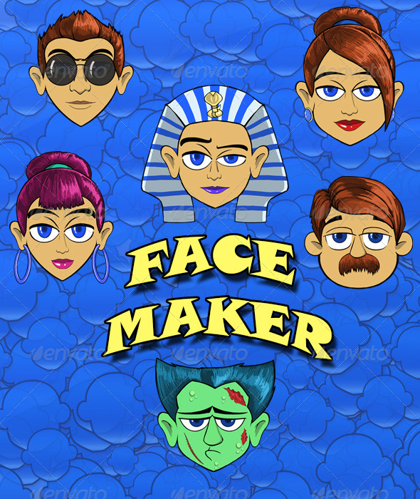 GraphicRiver Face Maker 6832373