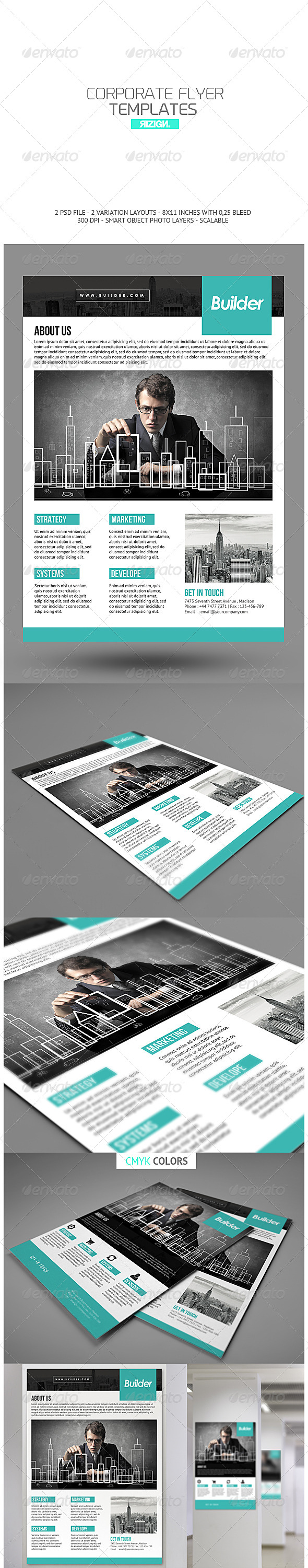 GraphicRiver Corporate Flyer 6832591