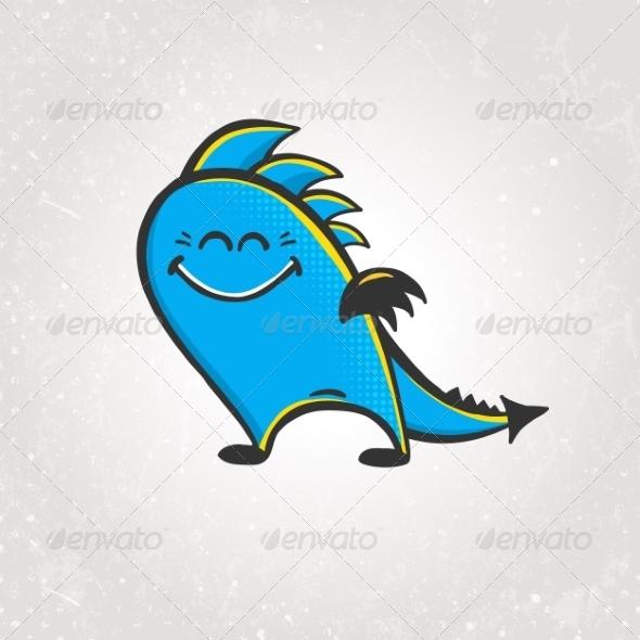 GraphicRiver Smiling Dragon 6832782