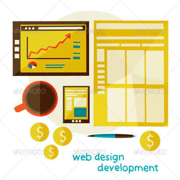 GraphicRiver Web Design Development 6833746