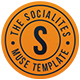 The Socialites - A One Page Muse Template - ThemeForest Item for Sale
