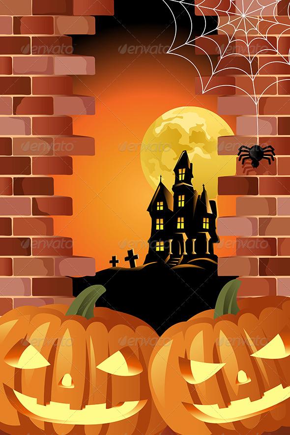 GraphicRiver Halloween 6833986