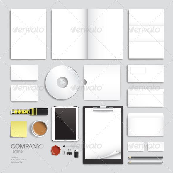 GraphicRiver Corporate Brand Identity Vector Template Design 6834135