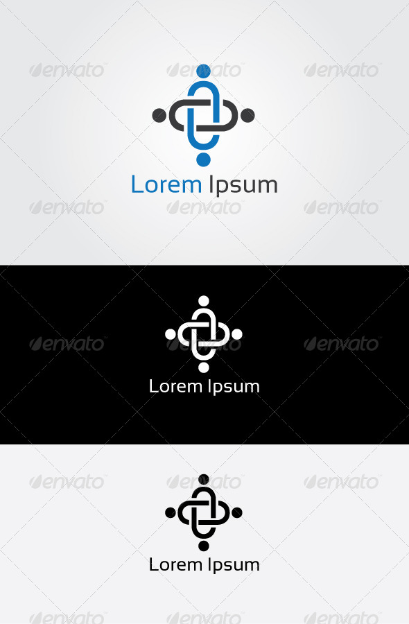 GraphicRiver Business People Logo 6834353