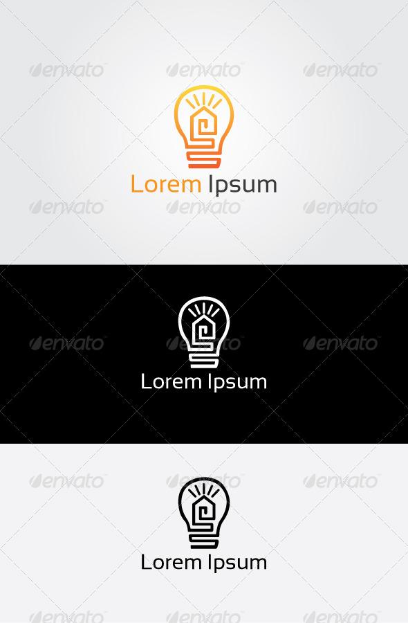 GraphicRiver Idea House Logo 6834471